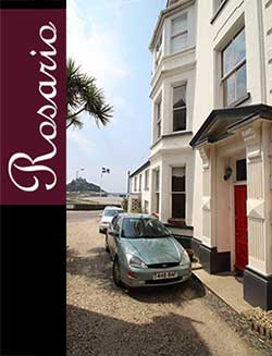 Rosario, views of the sea and St Michael's Mount, just 30 metres from the beach